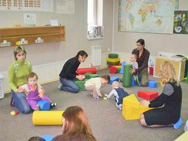Фото: Занятия в центре «Белые паруса»