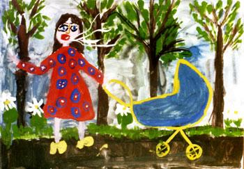 Рисунок: Женя Алексеенко, 7 лет.