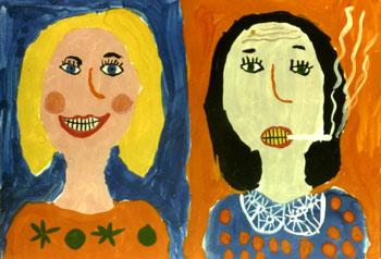 Рисунок: Карина Трущенко, 6 лет.